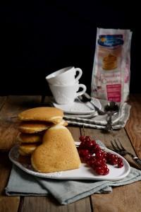 DOLCI  Cuori di pancakes di Ramona Pizzano