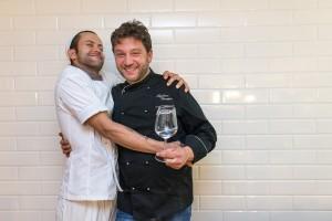 da sx Gaetano Pierro e Giuseppe Maglione -  Daniele Gourmet Eboli