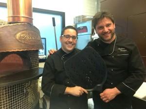 da sx lo chef Nando Melileo ed il pizzachef Giuseppe Maglione (1)