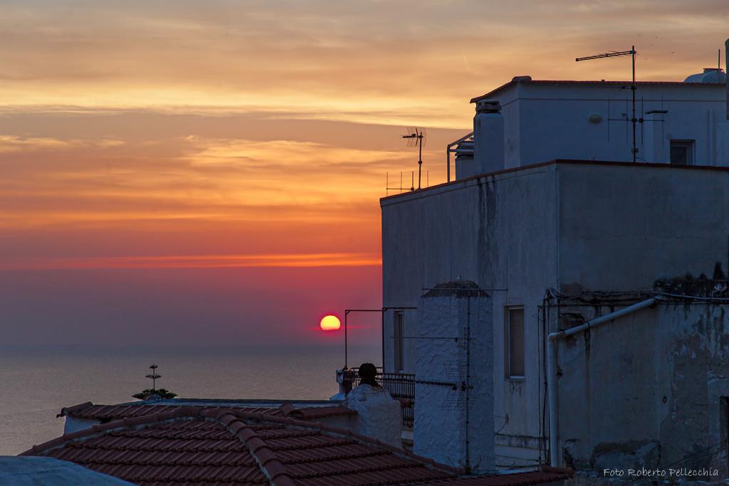 Peschici, tramonto