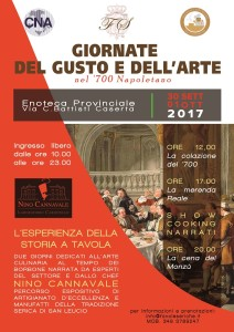 Giornate del Gusto e dell'Arte nel '700 napoletano. A Caserta per conoscere la cucina dei Monzù