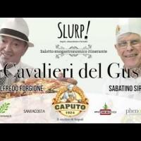 """SLURP. A Roma Termini con i """"Cavalieri del Gusto"""", ecco il video story…"""