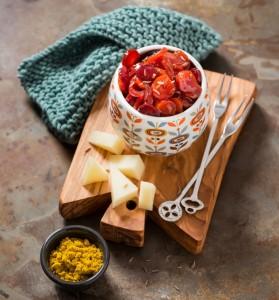 Chutney di carote al curry e semi di cumino