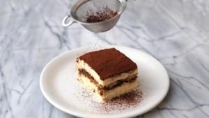 tiramisu cacao mascarpone