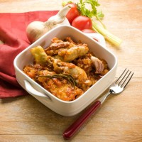 29025847 - chicken cacciatora italian traditional recipe